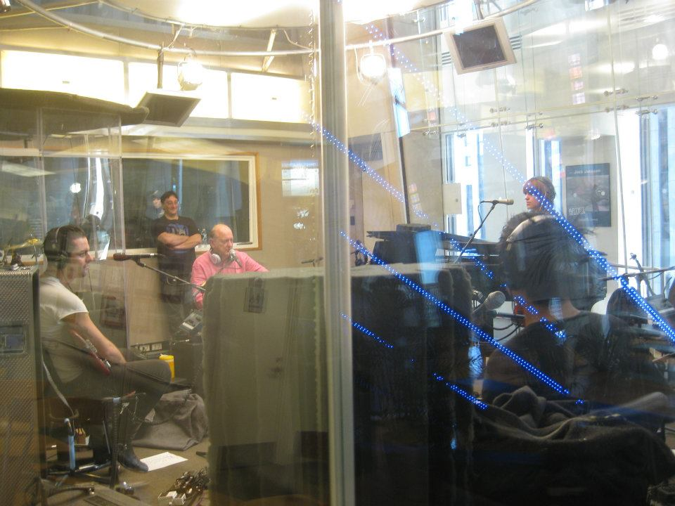 """The Airborne Toxic Event plays in the Sirius-XM studio during """"Live"""