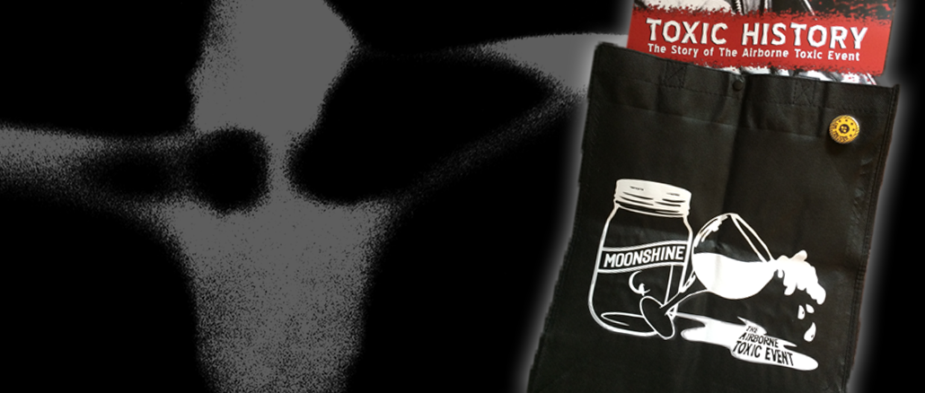 The Airborne Toxic Event Moonshine and Cheap-Ass Wine Tote