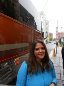 The last photo before my life changed and I started living again. Hanging outside with the TATE Tour Bus at the 9:30 Club. My first TATE concert.
