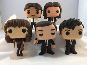 The Airborne Toxic Event Custom Funko POPs