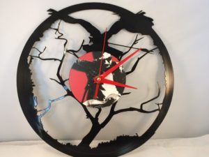 The Airborne Toxic Event Vinyl Record Clock